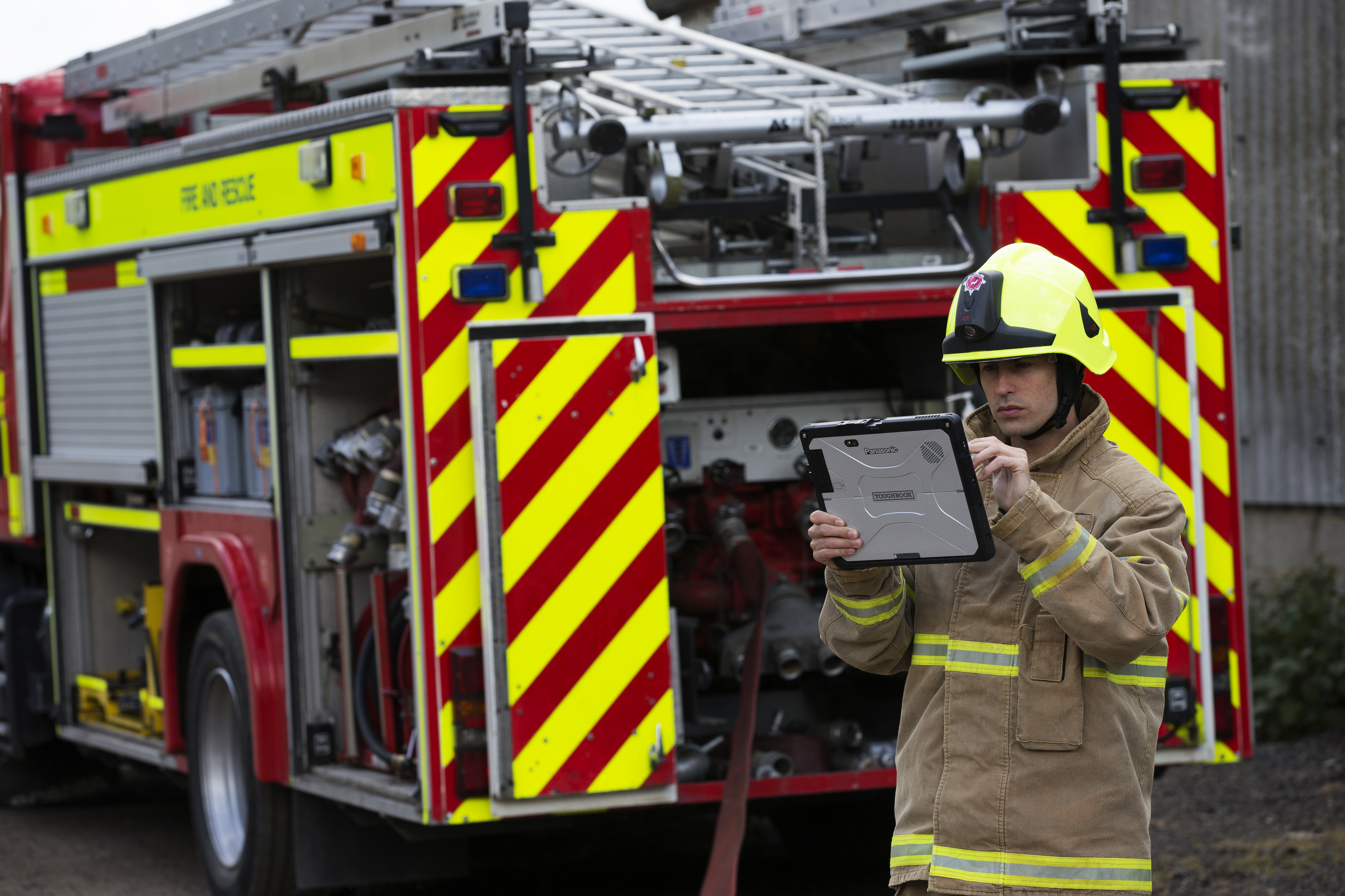 fire service and Toughbook 33