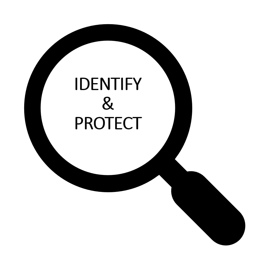 identify and protect written
